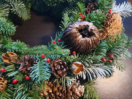 Kalėdinis vainikas/ Nostalgija