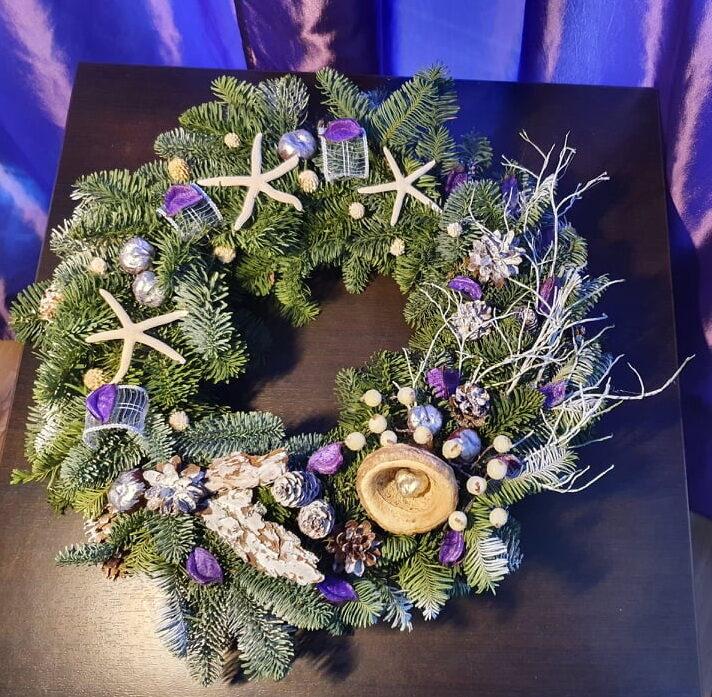 Kalėdinis vainikas/ Galaktika